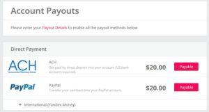 Topcashback - вывод денег в том числе и на Yandex.Money