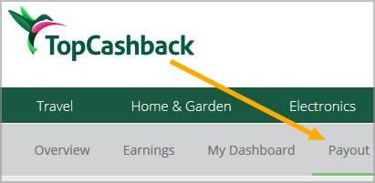 topcashback payout