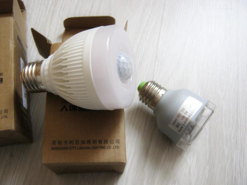 лампочки с датчиком движения для квартиры
